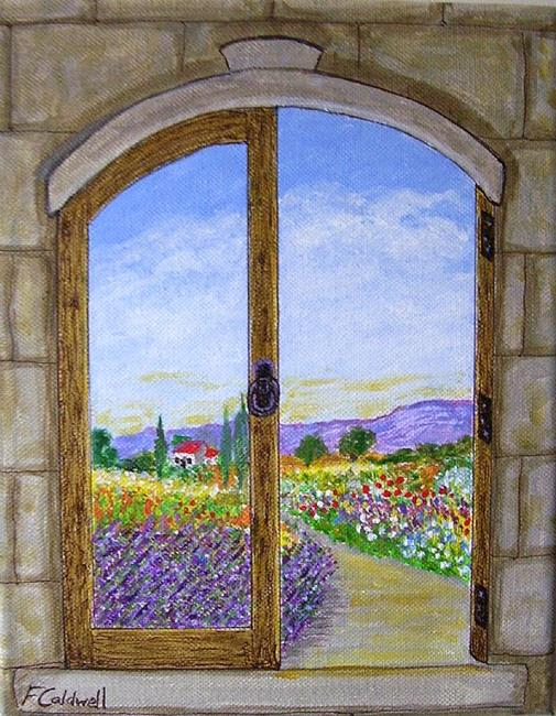 Art: Provencal Morning (Sold) by Artist Fran Caldwell
