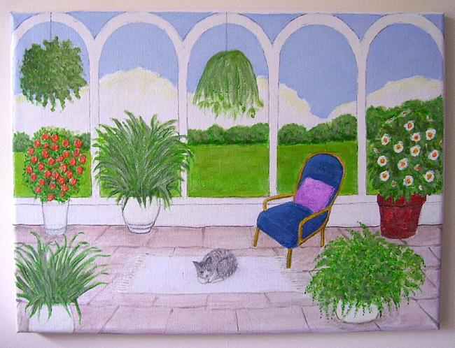 Art: Conservatory II (Commission) by Artist Fran Caldwell