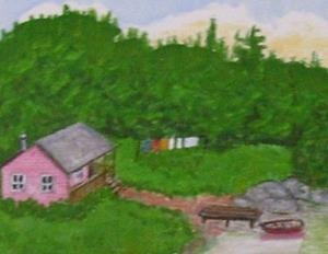 Detail Image for art The Cabin (Sold)