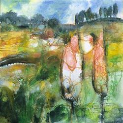 Art: Alle porte del giardino dell'Eden by Artist Alessandro Andreuccetti