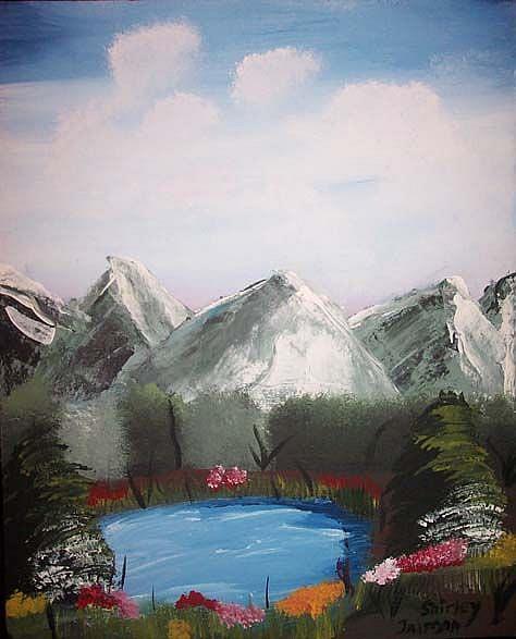 Art: Mountains by Artist Shirley Inocenté