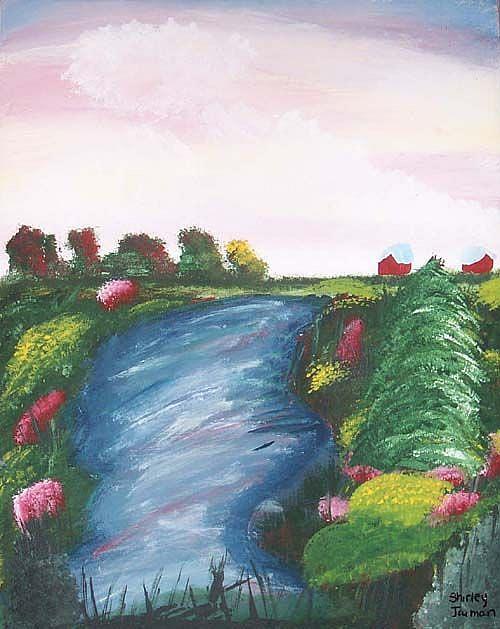 Art: Stream by Artist Shirley Inocenté