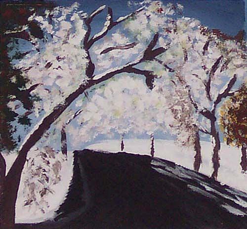 Art: Winter's Path by Artist Shirley Inocenté