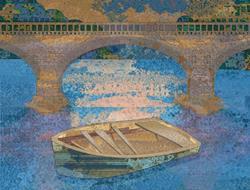 Art: Rowboat by Artist Mary Ogle