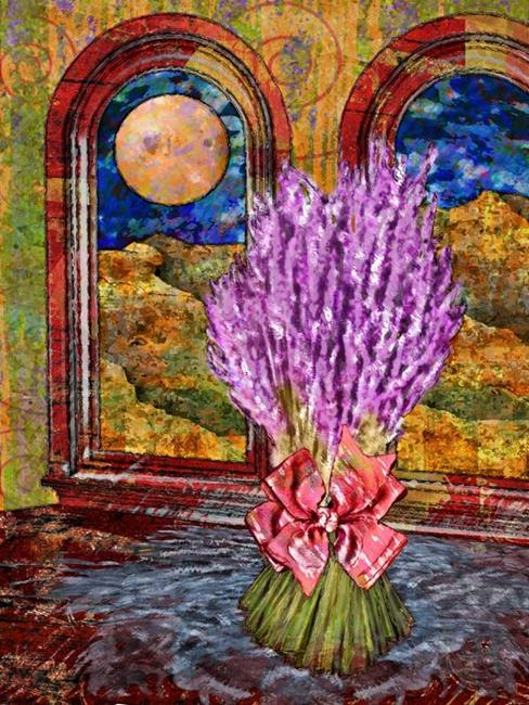 Art: Lavender by Artist Mary Ogle