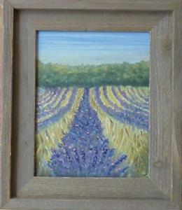 Detail Image for art Lavender Field SOLD