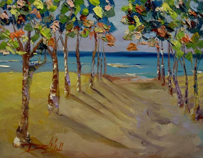 Art: Road to the Beach by Artist Delilah Smith