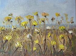 Art: Field Flowers SOLD by Artist Terri L West