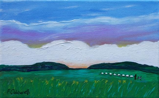 Art: Home From the Hills by Artist Fran Caldwell