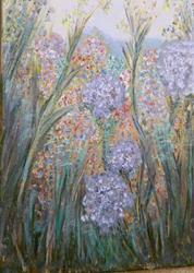 Art: My Secret Garden NOT FOR SALE by Artist Terri L West