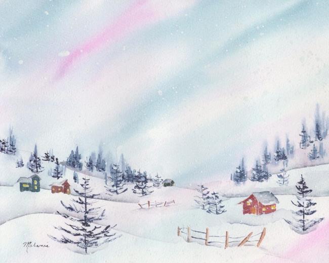 Art: Wintertime is Here.jpg by Artist Melanie Pruitt