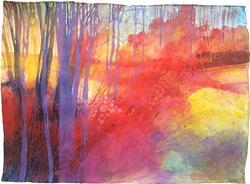 Art: Oltre il sentiero dei faggi d'autunno by Artist Alessandro Andreuccetti