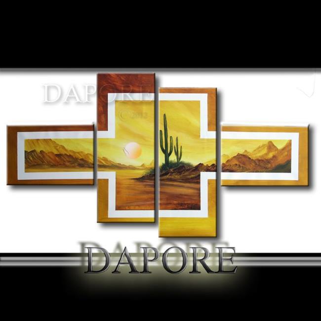 Art: landscape449desertcactus by Artist Theo Dapore