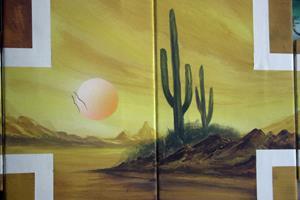 Detail Image for art landscape449desertcactus