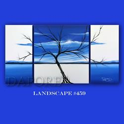 Art: land 458blue by Artist Theo Dapore