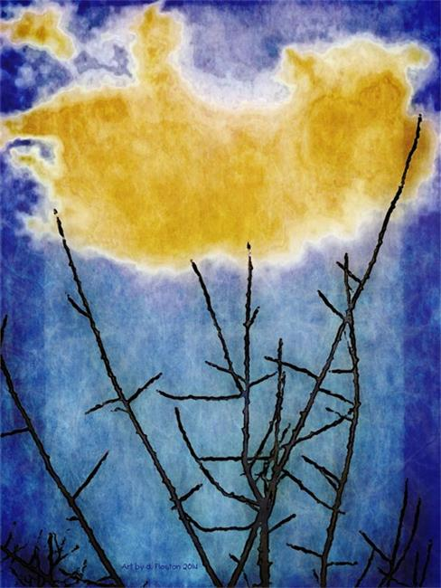 Art: Cradling the Cloud by Artist Deanne Flouton