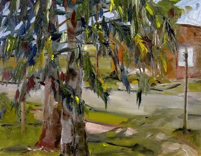 Art: Under the Tree by Artist Delilah Smith