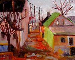 Art: Street View by Artist Delilah Smith