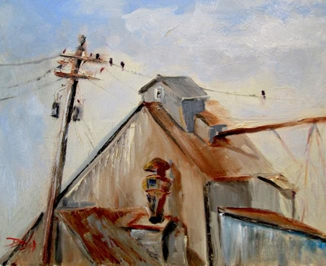 Art: Old Grist Mill by Artist Delilah Smith