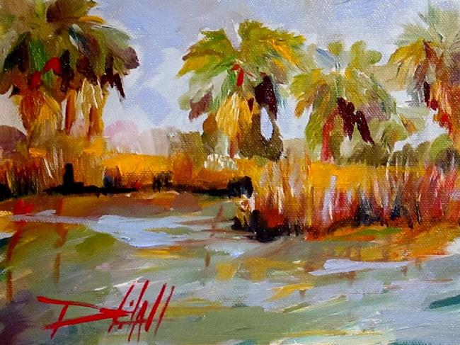 Art: Tropical Water by Artist Delilah Smith