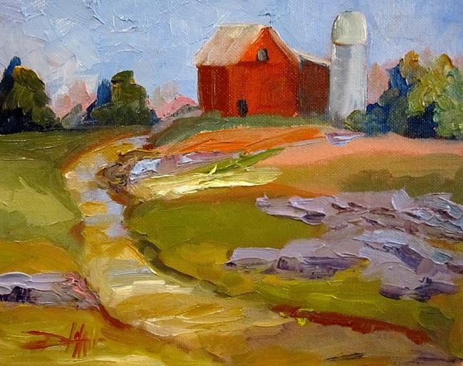 Art: Lavender Fields by Artist Delilah Smith