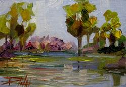Art: Summer Reflections by Artist Delilah Smith