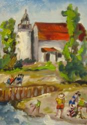 Art: Light House-sold by Artist Delilah Smith