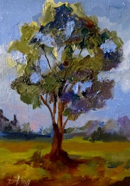 Art: Summer Tree by Artist Delilah Smith