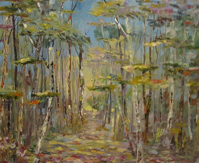 Art: A Walk in the Woods by Artist Delilah Smith