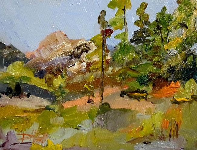Art: Western Landscape by Artist Delilah Smith