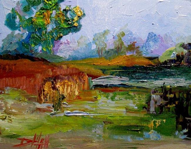 Art: Marshland by Artist Delilah Smith