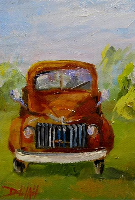 Art: Old Truck by Artist Delilah Smith