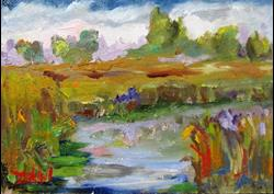 Art: Impressions In Oils by Artist Delilah Smith