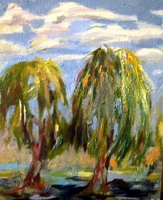 Art: The Willows No. 3 by Artist Delilah Smith