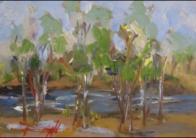 Art: Trees (800x559).jpg by Artist Delilah Smith