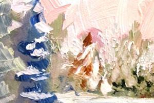 Detail Image for art Morning Snow