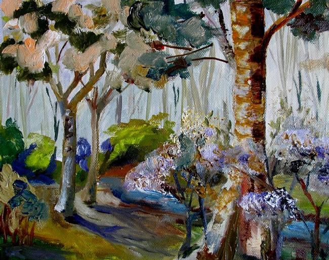 Art: The Park by Artist Delilah Smith