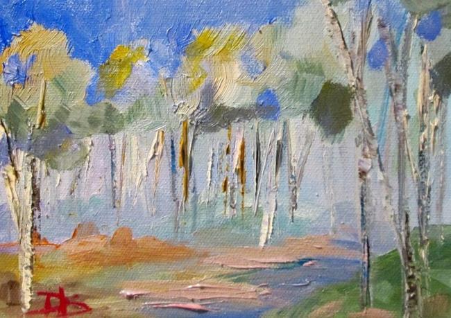 Art: Blue Morning by Artist Delilah Smith