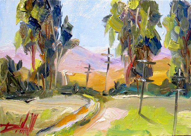 Art: Landscape No. 17 by Artist Delilah Smith