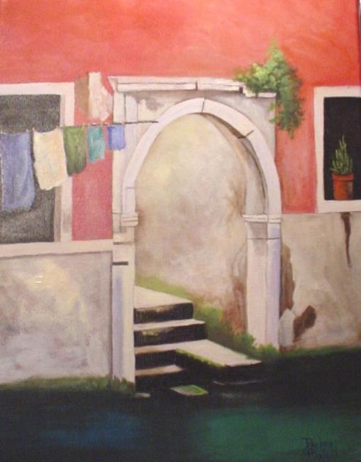 Art: A View of Venice  by Artist Barbara Haviland