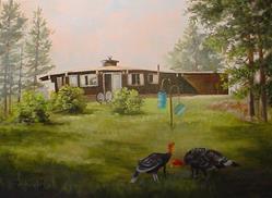Art: The Shadow Residence by Artist Barbara Haviland