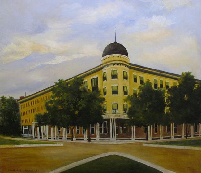 Art: Majestic Hotel  by Barbara Haviland by Artist Barbara Haviland