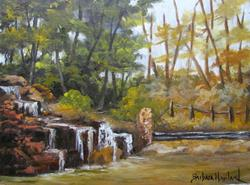 Art: Terrell Park Landscape  by Artist Barbara Haviland