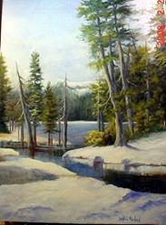 Art: Sylvan Lake #2  by Artist Barbara Haviland