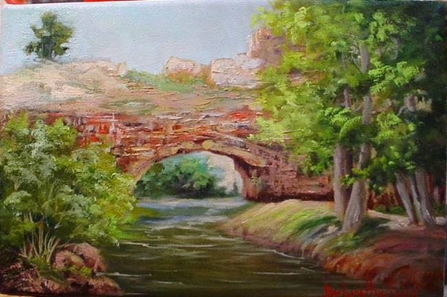 Art: Natural Bridge Wyoming II  by Artist Barbara Haviland