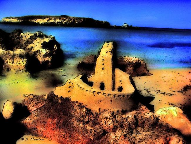 Art: Sand Castle by Artist Deanne Flouton
