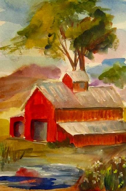 Art: After the Rain-SOLD by Artist Delilah Smith