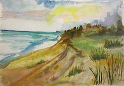Art: The Bluffs by Artist Delilah Smith