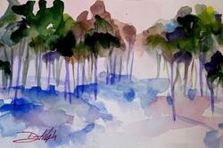 Art: Romantic Landscape by Artist Delilah Smith