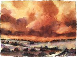 Art: Storie di una terra bellissima sotto un cielo di creta by Artist Alessandro Andreuccetti